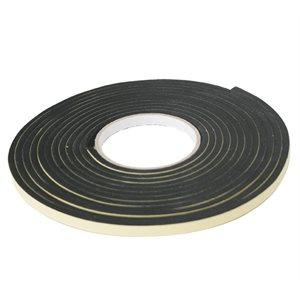"lalizas marine neoprene tape ""hatch seal"", 3 m x 19 mm x 6 mm, black"