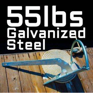 Mantus Galvanized Anchor 55 lbs