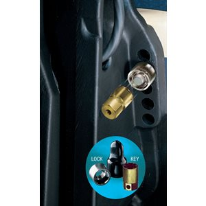 "marine single outboard motor lock set (5 / 16""-18 thread size)"