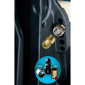 marine single outboard motor lock set (m12x1.75 thread size)