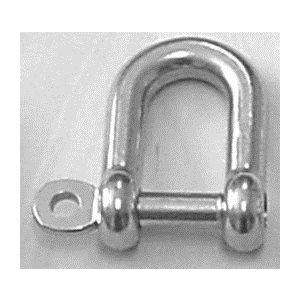 "CAST D SHACKLE CAPTIVE PIN 3 / 8"""