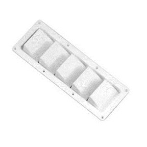 white louvered vent