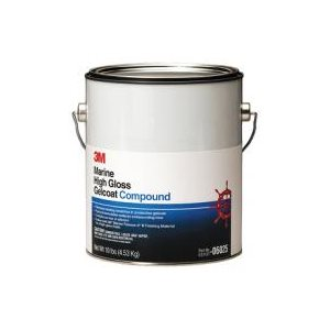 3M™ Marine High Gloss Gelcoat Compound 1gal