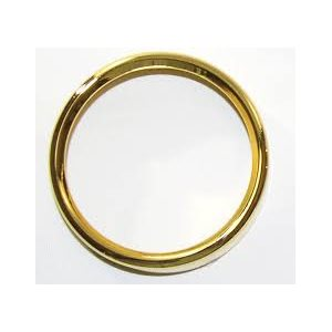 gold bezel