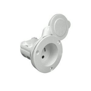 universal ac plug holder wht.