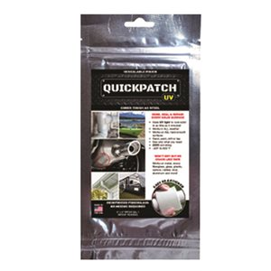 "QUICKPATCH - PATCH DE REPARATION UV 3"" X 6"""