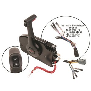 side mount remote control