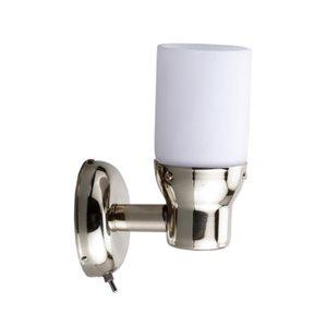 lampe murale à del et interrupteur inox