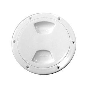 white deck plate
