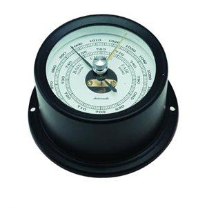 baromètre alum. noir cadran 50mm
