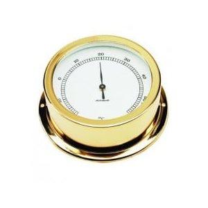 thermomètre plaquée or cadran 50mm