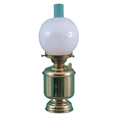 table lamp, small brass