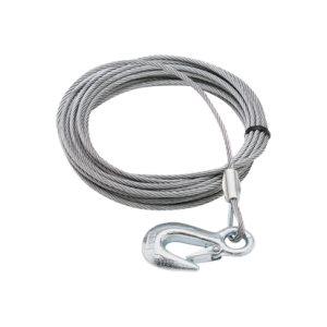 câble de treuil  3 / 16 x 50' 4200 lb