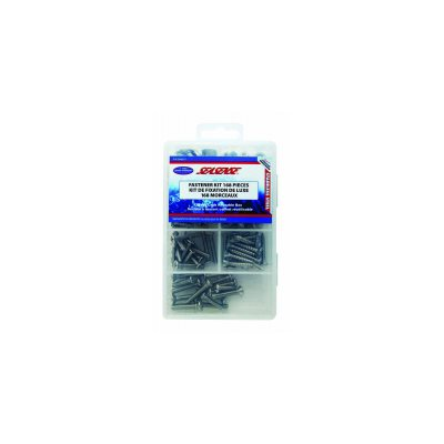 dlx 168pc fastener kit