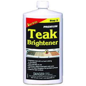 PREMIUM TEAK BRIGHTENER - STEP 2  /  32OZ