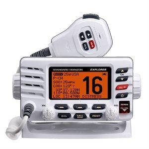 radio vhf explorer 25w blanc