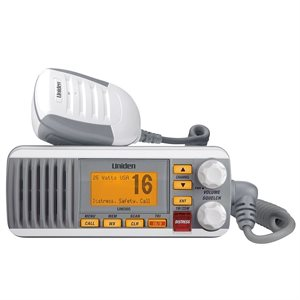 F / M VHF RADIO 25W WHITE