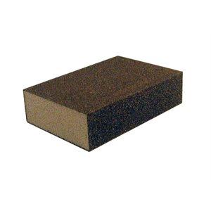 Dual angle sanding sponges