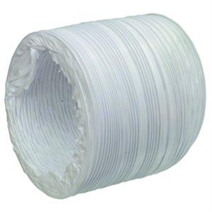 """Boyau 3"""" blanc flexible pour ventilateur de cale"""